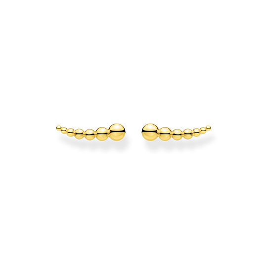 Ear climber dots gold from the Charming Collection collection in the THOMAS SABO online store
