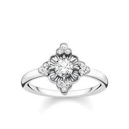 "ring ""Royalty white"" from the Glam & Soul collection in the THOMAS SABO online store"