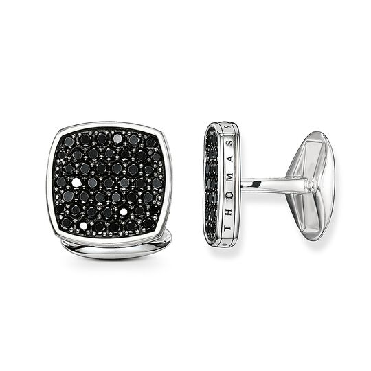 gemelli da polso pavé di diamanti from the Rebel at heart collection in the THOMAS SABO online store