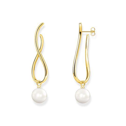 Ohrringe Heritage mit Perle gold aus der  Kollektion im Online Shop von THOMAS SABO