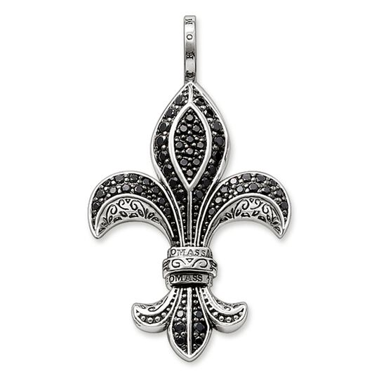 pendant bourbon lily small from the Rebel at heart collection in the THOMAS SABO online store