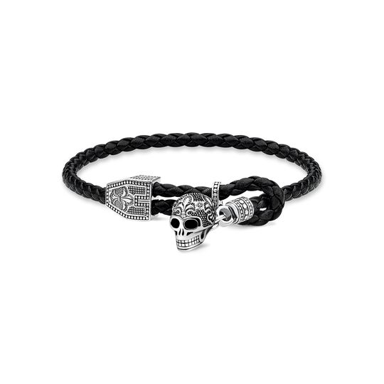 leather strap skull from the  collection in the THOMAS SABO online store