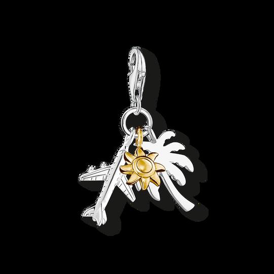 pendentif Charm palmier, soleil, avion de la collection Charm Club dans la boutique en ligne de THOMAS SABO