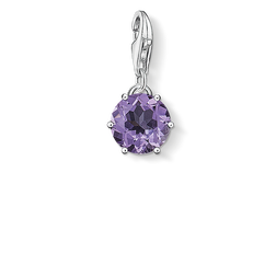 "Charm pendant ""birth stone February"" from the  collection in the THOMAS SABO online store"