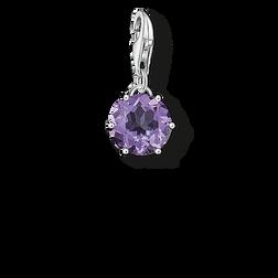 """pendentif Charm """"pierre naissance févrie de la collection  dans la boutique en ligne de THOMAS SABO"""