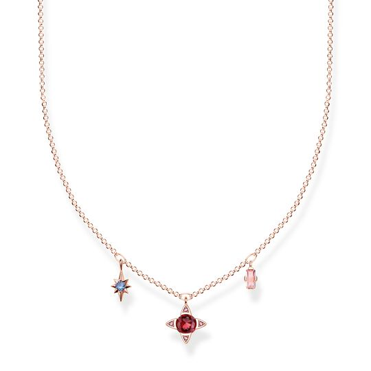 necklace Lucky symbols, rose-coloured from the  collection in the THOMAS SABO online store