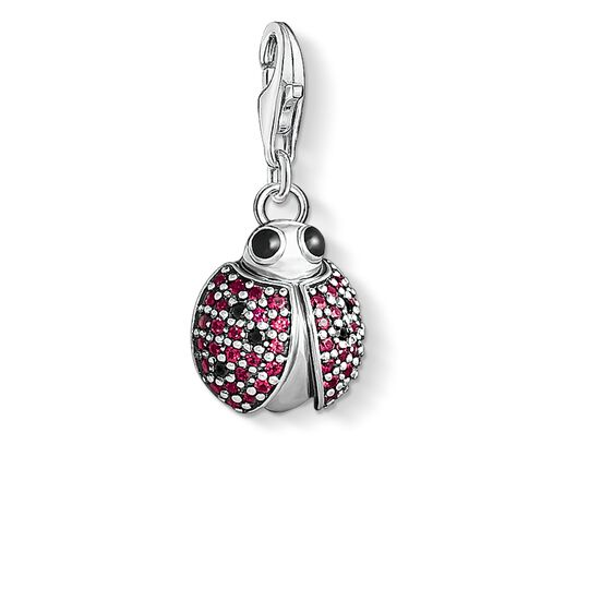 Charm pendant ladybird from the Charm Club collection in the THOMAS SABO online store