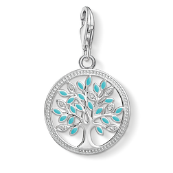 Charm pendant Tree of Love from the  collection in the THOMAS SABO online store