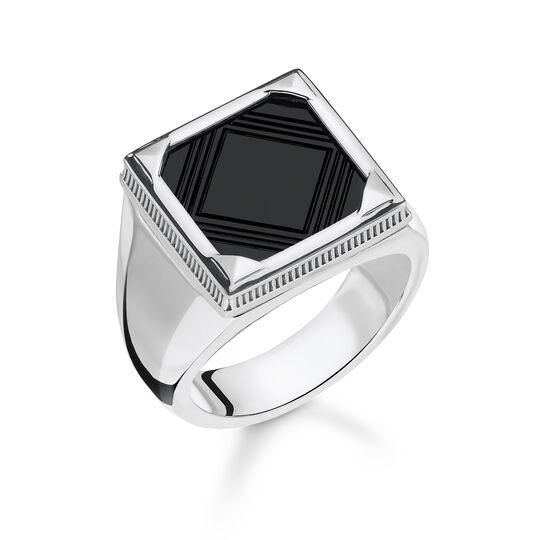 Ring Onyx aus der Rebel at heart Kollektion im Online Shop von THOMAS SABO