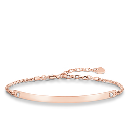 "bracciale ""cuore"" from the Love Bridge collection in the THOMAS SABO online store"