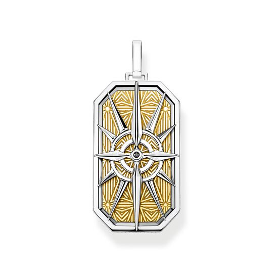 pendant compass star gold from the  collection in the THOMAS SABO online store