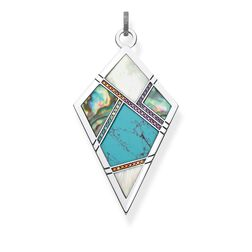 """pendant """"turquoise, mother-of-pearl"""" from the Glam & Soul collection in the THOMAS SABO online store"""