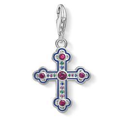 """Colgante Charm """"Cruz ornamental icónica"""" de la colección Glam & Soul en la tienda online de THOMAS SABO"""
