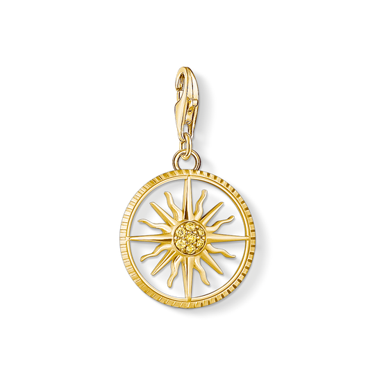 Charm pendant sun small from the Charm Club collection in the THOMAS SABO online store
