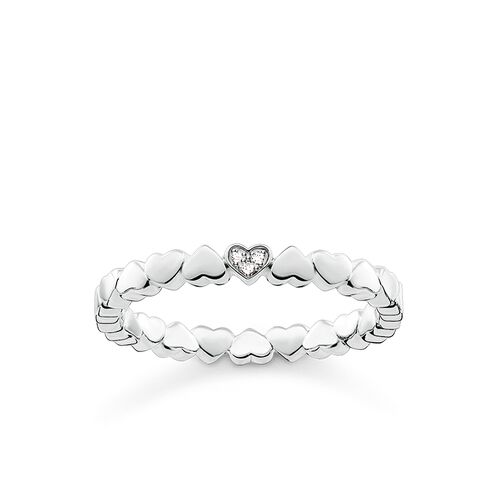 """ring """"hearts"""" from the Glam & Soul collection in the THOMAS SABO online store"""