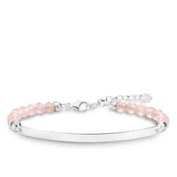 "bracelet ""pink"" from the Love Bridge collection in the THOMAS SABO online store"