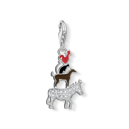 Charm pendant Bremen Town Musicians from the Charm Club collection in the THOMAS SABO online store