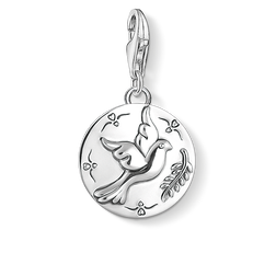 "Charm pendant ""disc dove"" from the  collection in the THOMAS SABO online store"