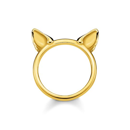 ring Cat's ears, gold from the  collection in the THOMAS SABO online store