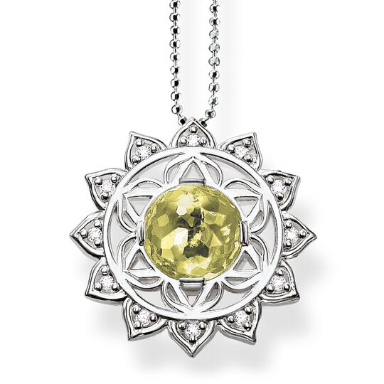 """necklace """"heart chakra"""" from the Chakras collection in the THOMAS SABO online store"""