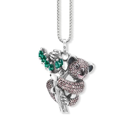 Pendant on chain koala from the  collection in the THOMAS SABO online store