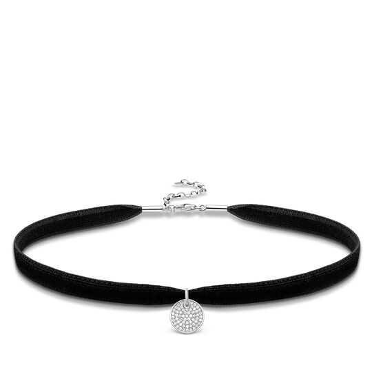 "Choker ""Disc Sparkling Circles"" from the Glam & Soul collection in the THOMAS SABO online store"