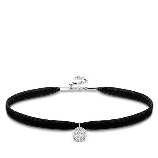 Choker médaille Sparkling Circles de la collection Glam & Soul dans la boutique en ligne de THOMAS SABO