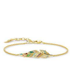 """Armband """"Feder"""" aus der Glam & Soul Kollektion im Online Shop von THOMAS SABO"""