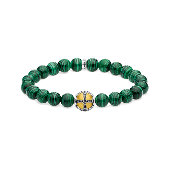 bracelet Cross green from the Glam & Soul collection in the THOMAS SABO online store