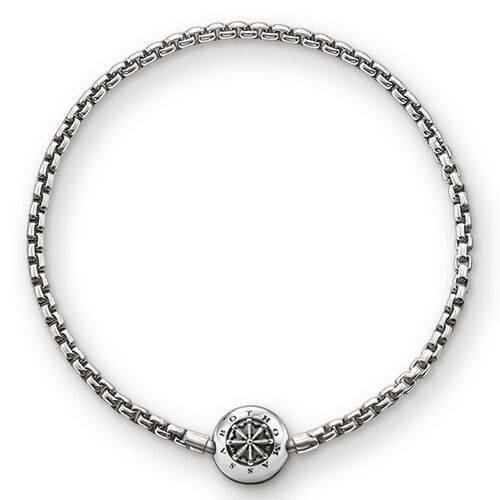 """bracelet for beads """"blackened"""" from the Karma Beads collection in the THOMAS SABO online store"""