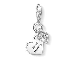 "ciondolo Charm ""SOUL SISTERS"" from the  collection in the THOMAS SABO online store"