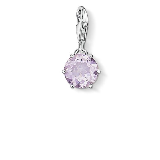 Charm pendant birth stone June from the  collection in the THOMAS SABO online store