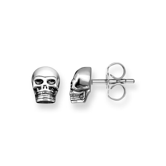 ear studs skull from the Rebel at heart collection in the THOMAS SABO online store