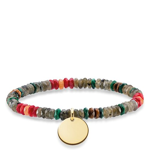 """bracelet """"boho brown"""" from the Love Bridge collection in the THOMAS SABO online store"""