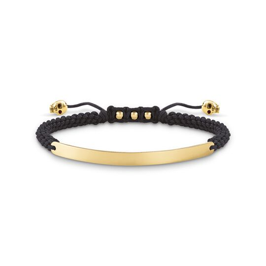 bracelet black skull from the  collection in the THOMAS SABO online store