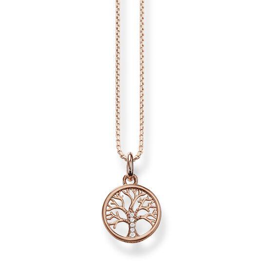 Chaîne arbre de l'amour or rose de la collection  dans la boutique en ligne de THOMAS SABO