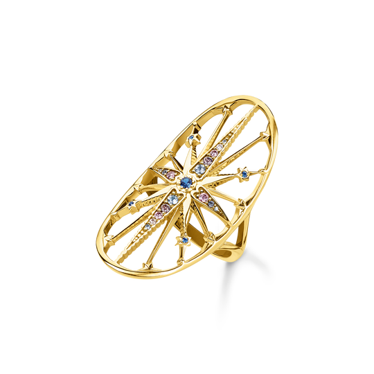 ring Royalty star gold from the Glam & Soul collection in the THOMAS SABO online store