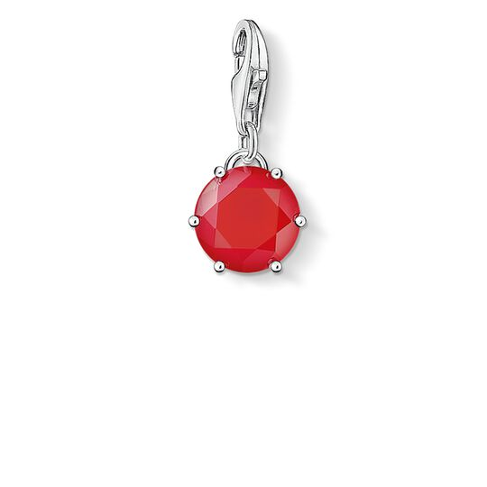 Charm pendant birth stone July from the  collection in the THOMAS SABO online store