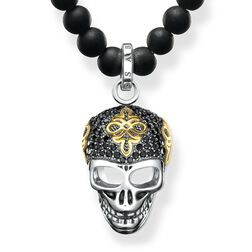 """necklace """"diamond skull"""" from the Rebel at heart collection in the THOMAS SABO online store"""