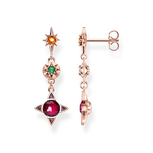 earrings Colourful lucky symbols from the  collection in the THOMAS SABO online store