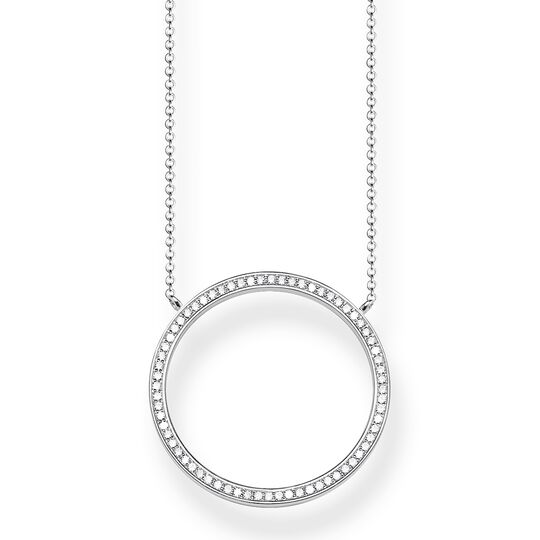 "necklace ""Circle Large"" from the Glam & Soul collection in the THOMAS SABO online store"