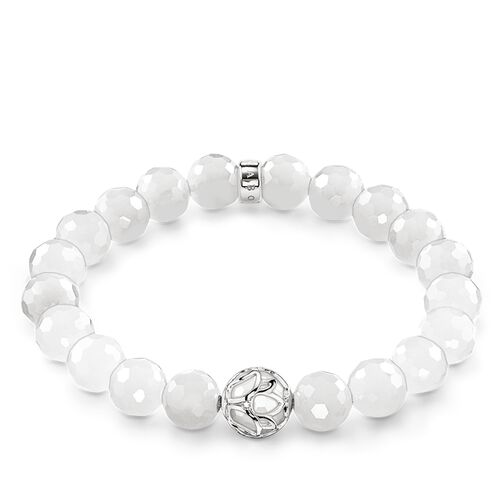 "bracelet ""white lotus flower"" from the Glam & Soul collection in the THOMAS SABO online store"