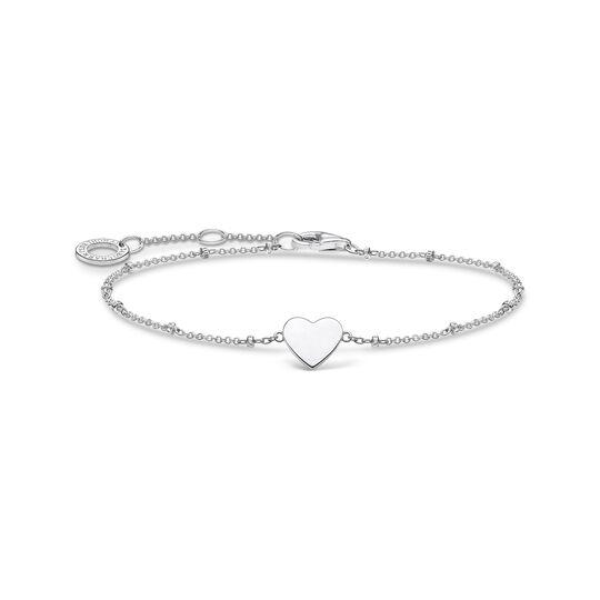 Bracelet cœur vec perles argent de la collection Charming Collection dans la boutique en ligne de THOMAS SABO