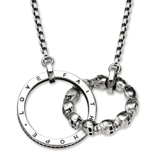719ce673498d necklace from the Rebel at heart collection in the THOMAS SABO online store