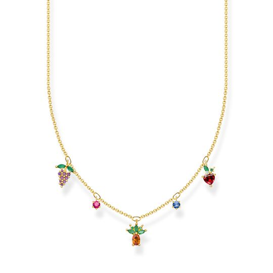 Necklace colorful fruits gold from the Charming Collection collection in the THOMAS SABO online store