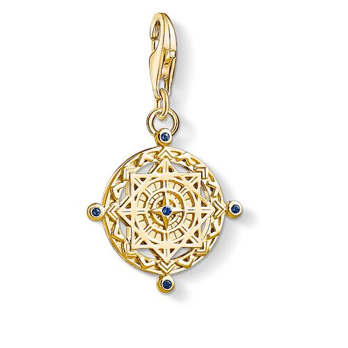 """Charm pendant """"Vintage compass"""" from the  collection in the THOMAS SABO online store"""