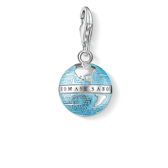 Charm pendant globe from the  collection in the THOMAS SABO online store