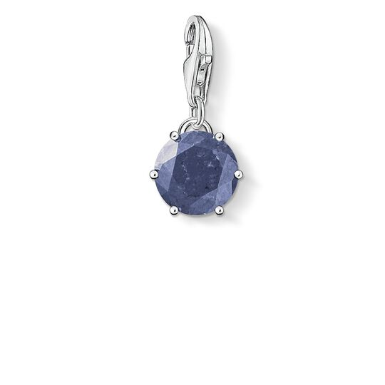 Charm pendant birth stone December from the  collection in the THOMAS SABO online store