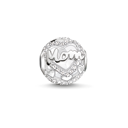 """Bead """"MOM"""" from the Karma Beads collection in the THOMAS SABO online store"""