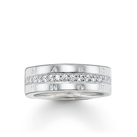 ring eternity classic white from the Glam & Soul collection in the THOMAS SABO online store